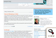 Snapshot Sable Blogger template by Dave Shea