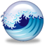 Great Wave icon for Camino by Jon Hicks