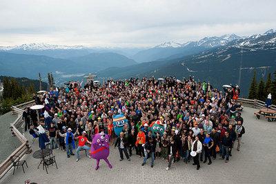 Mozilla Summit 2010 in Whistler BC