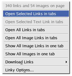 Linky Screenshot